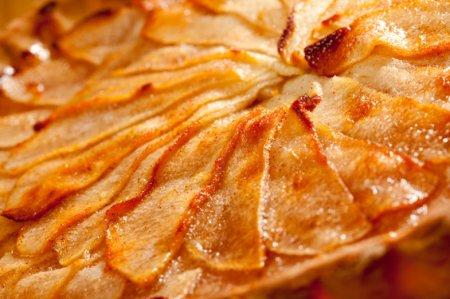 Яблочный пай с карамелью