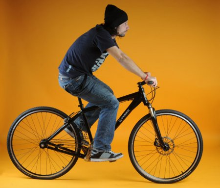 Stringbike - велосипед без цепи