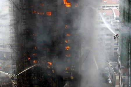 Пожар в Шанхае