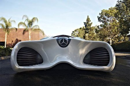 Mercedes-Benz показал фотографии сверхлегкого концепта из биоволокна