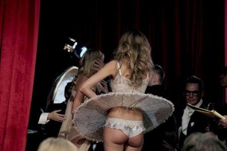 За сценой Victorias Secret