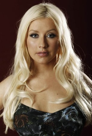 Шикарные формы Christina Aguilera
