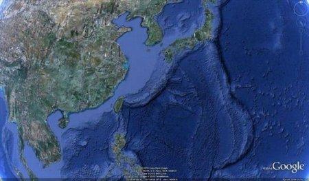 Здание американской военной базы в Японии
