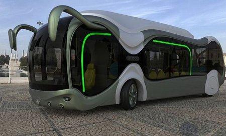 Новый автобус МАЗ