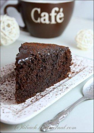 [выпечка] Сочный шоколадный пирог