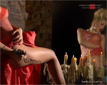 """Фотосессия:""""В объятьях Люцифера"""" - Фотограф Andrey Razoomovsky"""