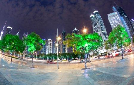 Деревья с наночастицами заменят уличные фонари