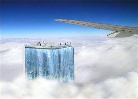 Концепт необычного водопада