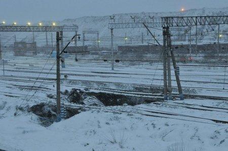 Железнодорожный провал
