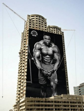 Лучшая реклама фитнесс-центров