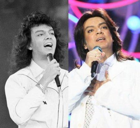 Российские звезды в молодости и сейчас