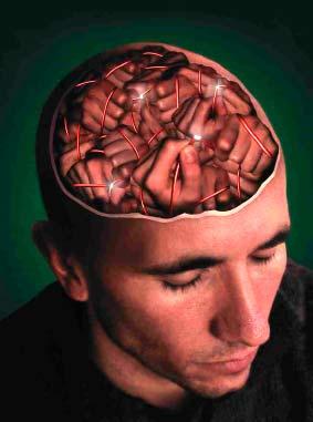 Гений - потому что очень умный или очень больной.  В какой части мозга...