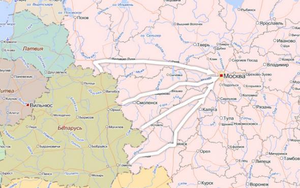 Сценарий нападения Беларуси на РФ