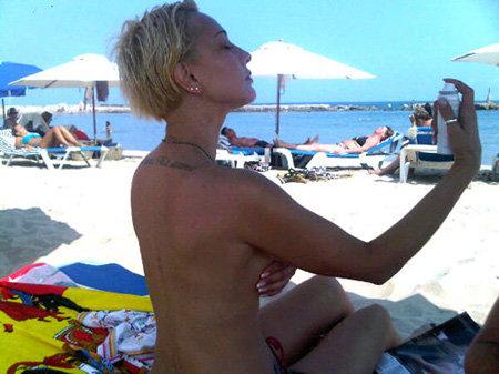 Лера Кудрявцева сделала интимную татуировку