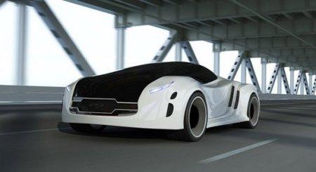 Футуристический автомобиль Astrum Meera