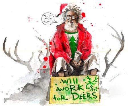 Санта Клаус: иной взгляд на доброго дедушку