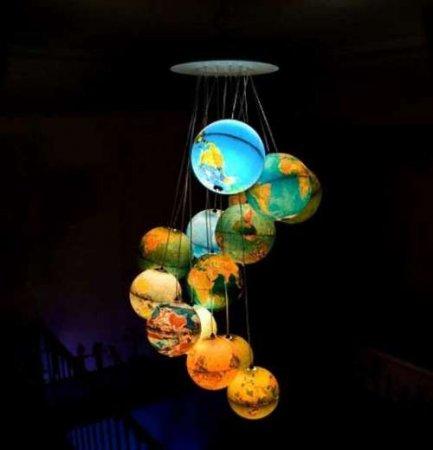 Лампы из мусора, но креативные