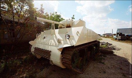 Танкодром в огороде