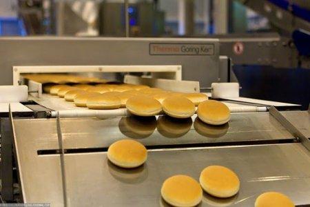 Производство булочек для МакДональдса