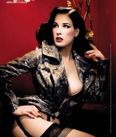 Красотка Dita Von Teese