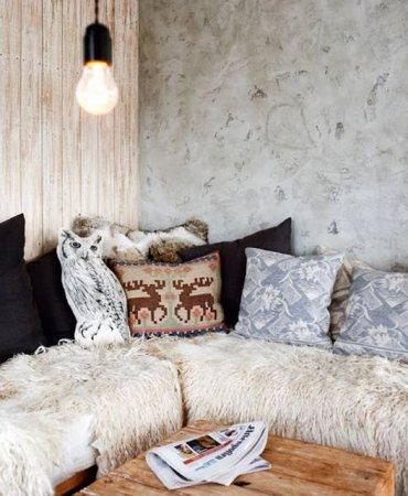 Норвежский лыжный домик