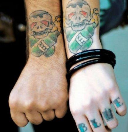 Парные татуировки