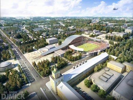 Проекты российских стадионов к ЧМ-2018