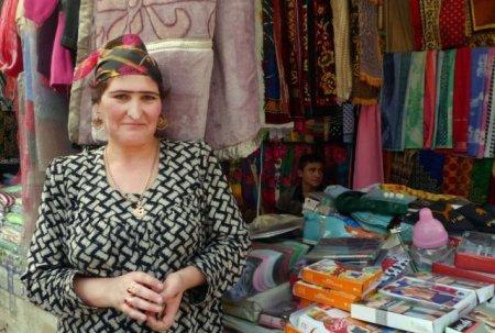 Татжикские модницы