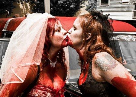 Парад зомби-невест