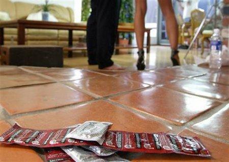 Порно и презервативы