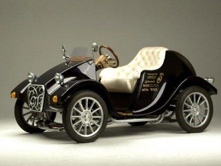 Miluira - электромобиль в ретро стиле