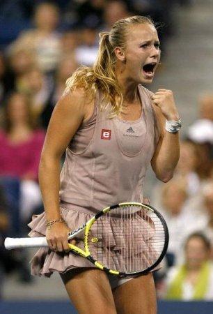 Теннисистка номер 1 Caroline Wozniacki