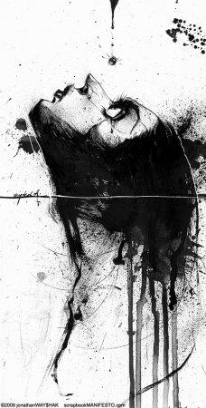 Черные иллюстрации J.Wayshack