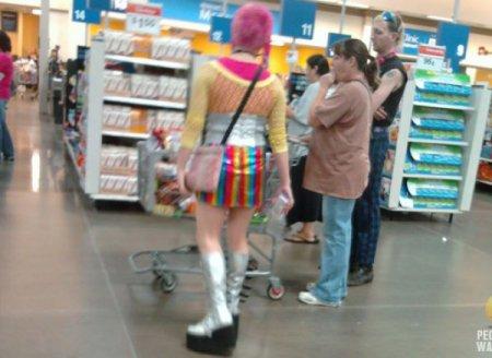 Фрики из супермаркетов