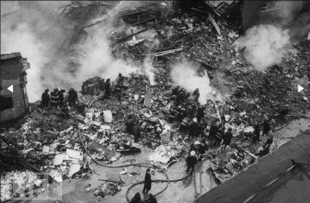 Самое смертоносное крушение самолетов в истории США