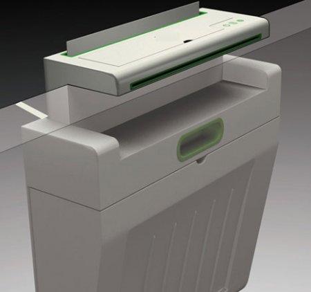 Печать на кромке стола: висячий офисный принтер Maxes