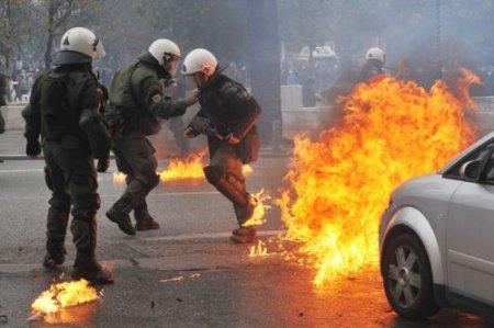 Беспорядки в Афинах
