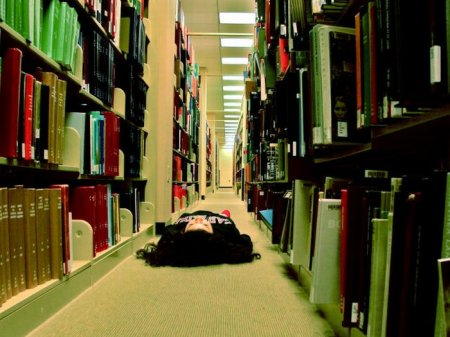 Тишина в библиотеке!
