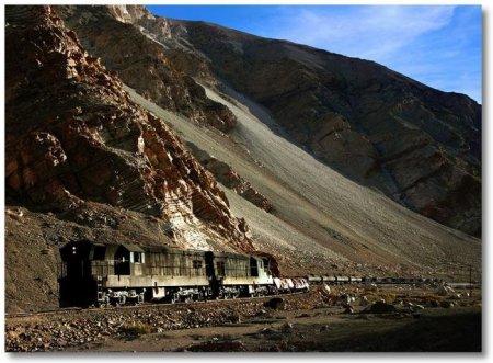 Удивительная железная дорога в Чили