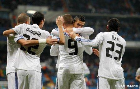 Бензема и Роналду оформили хет-трики в кубковом матче с «Леванте»