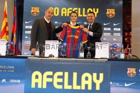 Афеллай подписал контракт с «Барселоной»