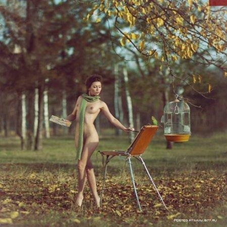 ���������� �� (nude) �������� - Andrew Lucas
