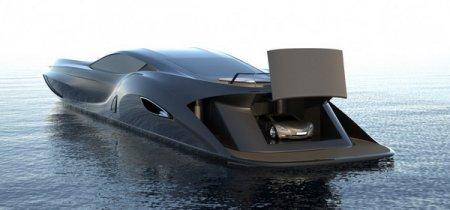 Концепт роскошной яхты Strand Craft 166