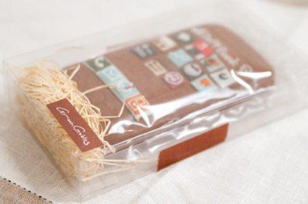 Японские iPhone-печеньки