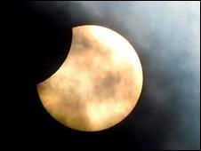 Над Европой и Ближним Востоком прошло солнечное затмение