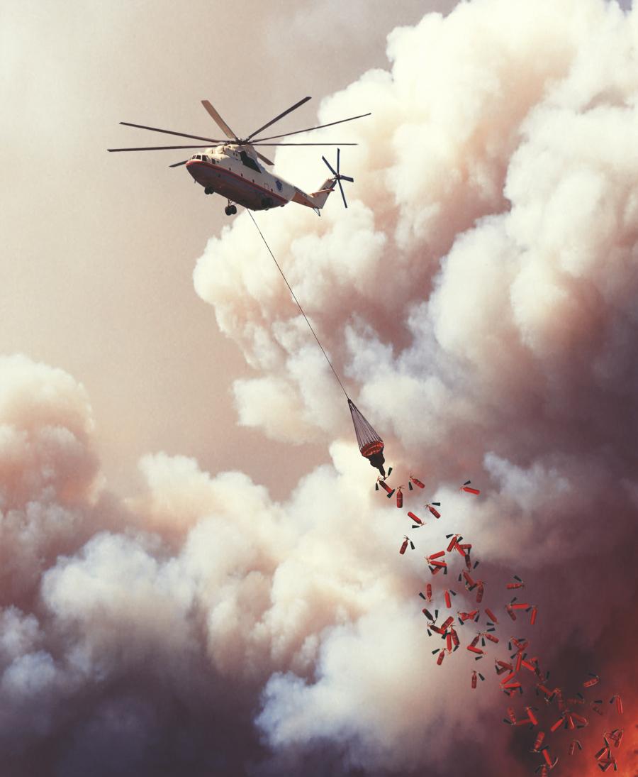 Как тушили пожары в России (СЕНСАЦИОННЫЕ ФОТО!!!)