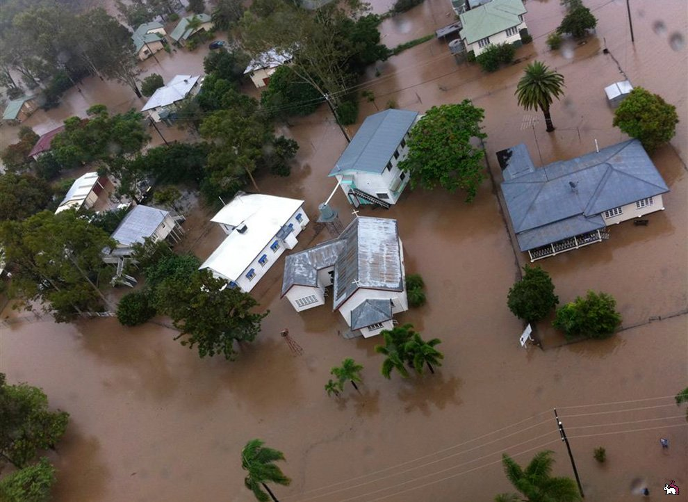 Наводнение в Австралии + шокирующие фото