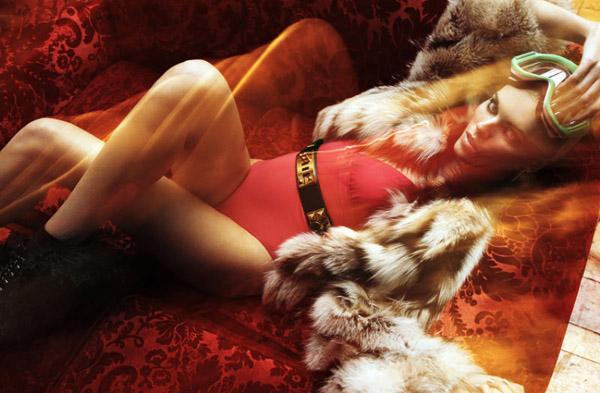 Марина Линчук в Vogue Germany
