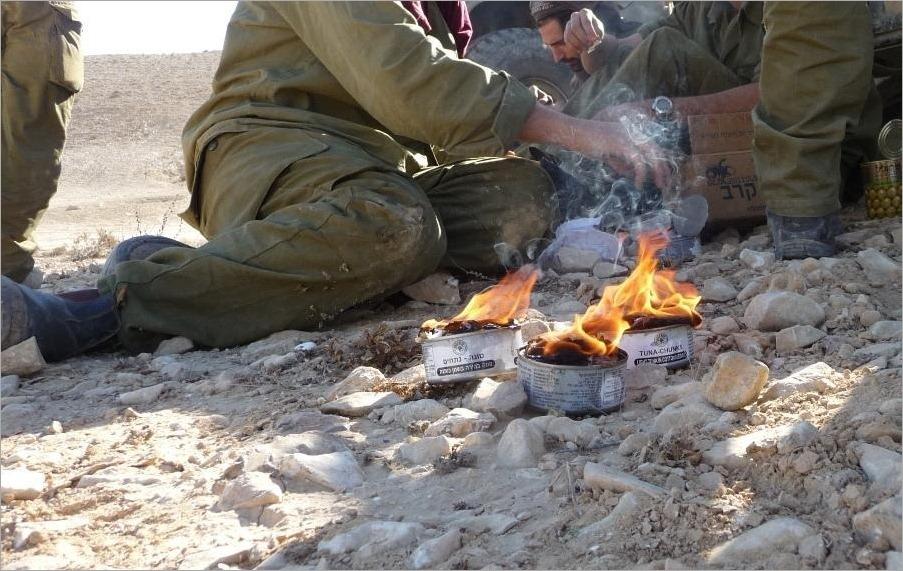 Романтика армейских сборов в Израиле (фото)