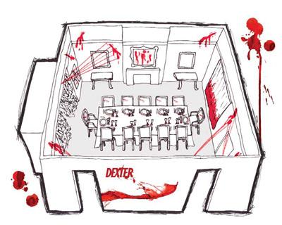 """Дизайн гостиной в стиле """"Декстер"""""""
